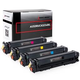 Logic-Seek 4 Toner kompatibel zu HP CF540X-CF543X UHC