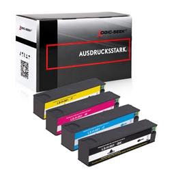 Logic-Seek 4 Tintenpatronen kompatibel zu HP 981A