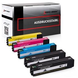 Logic-Seek 5 Tintenpatronen kompatibel zu HP 981A