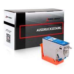 Logic-Seek  Tintenpatrone kompatibel zu Epson XP-8500 378 C13T37824010 XL Cyan
