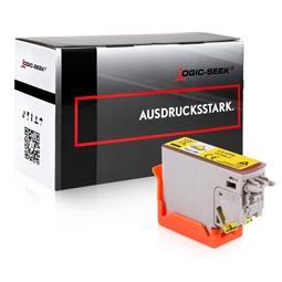 Logic-Seek  Tintenpatrone kompatibel zu Epson XP-8500 378 C13T37844010 XL Yellow
