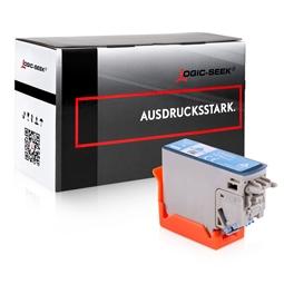 Logic-Seek  Tintenpatrone kompatibel zu Epson XP-8500 378 C13T37854010 XL Photo Cyan