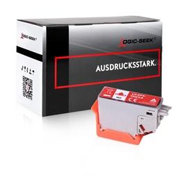 Logic-Seek  Tintenpatrone kompatibel zu Epson XP-15000 478XL C13T04F54010 XXL Rot