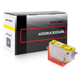 Logic-Seek  Tintenpatrone kompatibel zu Epson XP-6005 202XL C13T02H44010 XXL Yellow