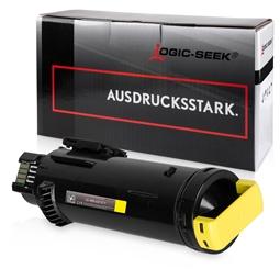 Logic-Seek  Toner kompatibel zu Xerox Phaser 6510 106R03692 HC Yellow