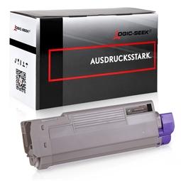 Logic-Seek  Toner kompatibel zu OKI C612 46507508 HC Schwarz