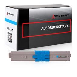 Logic-Seek  Toner kompatibel zu OKI C532 46490607 HC Cyan