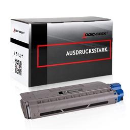 Logic-Seek  Toner kompatibel zu OKI C712 46507616 HC Schwarz
