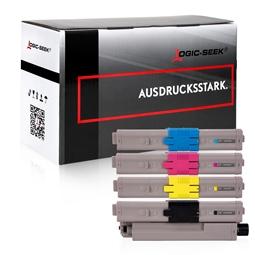 Logic-Seek 4 Toner kompatibel zu OKI C532 HC