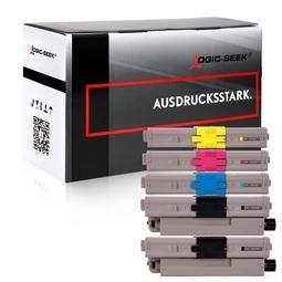 Logic-Seek 5 Toner kompatibel zu OKI C532 HC