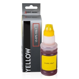 Logic-Seek  Tintenpatrone kompatibel zu Epson EcoTank 106 C13T00R440 XL Magenta