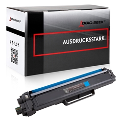 Logic-Seek  Toner kompatibel zu Brother TN-247C HC Cyan