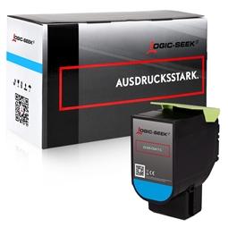 Logic-Seek  Toner kompatibel zu Lexmark CS417 71B0H20 HC Cyan