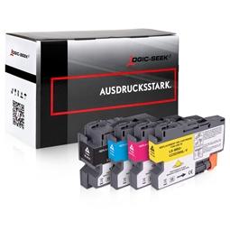 Logic-Seek 4 Tintenpatronen kompatibel zu Brother LC-3239XL XL