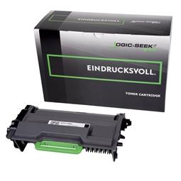 Logic-Seek Green Toner kompatibel zu Brother TN-3480 HC Schwarz
