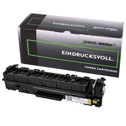 Logic-Seek Green Toner kompatibel zu HP 410X CF412X XL Yellow