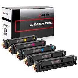 Logic-Seek 5 Toner kompatibel zu Canon 054H Cartridge UHC