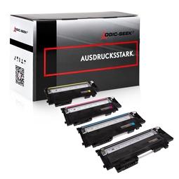 Logic-Seek 4 Toner kompatibel zu HP W2070A-W2073A HC