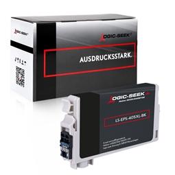 Logic-Seek  Tintenpatrone kompatibel zu Epson 405XL C13T05H14010 XL Schwarz