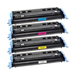 Logic-Seek 4 Toner kompatibel zu HP Q6000A-Q6003A 1600 HC