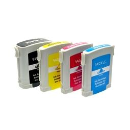 Logic-Seek 4 Tintenpatronen kompatibel zu HP 940 XL