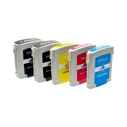 Logic-Seek 5 Tintenpatronen kompatibel zu HP 940 XL