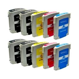 Logic-Seek 10 Tintenpatronen kompatibel zu HP 940 XL