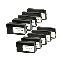 Logic-Seek 10 Tintenpatronen kompatibel zu HP 950 951 XL