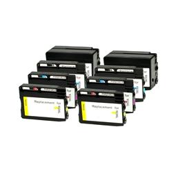 Logic-Seek 8 Tintenpatronen kompatibel zu HP 932 933 XL