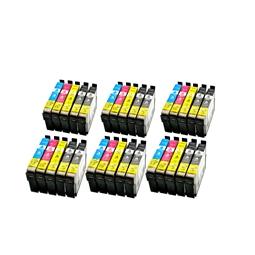 Logic-Seek 30 Tintenpatronen kompatibel zu Epson T0711-T0714 Stylus D78 XL