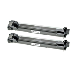 Logic-Seek 2 Toner kompatibel zu Brother TN-1050 HC Schwarz