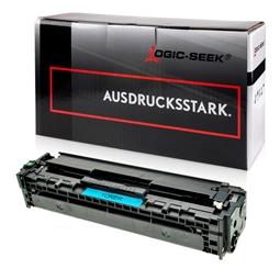 Logic-Seek  Toner kompatibel zu HP 125A CB541A HC Cyan
