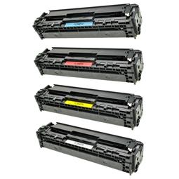 Logic-Seek 4 Toner kompatibel zu HP CB540A-CB543A HC