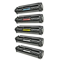 Logic-Seek 5 Toner kompatibel zu HP CB540A-CB543A HC