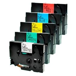 Logic-Seek 5x Schriftband kompatibel zu Brother TZE-231 TZE-431 TZE-531 TZE-631 TZE-731