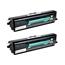 Logic-Seek 2 Toner kompatibel zu Dell 1720 RP380 593-10239 HC Schwarz