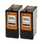 Logic-Seek 2 Tintenpatronen kompatibel zu Lexmark 36XLA 18C2190E XL Schwarz