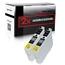 Logic-Seek 2 Tintenpatronen kompatibel zu Epson Stylus XP205 T1811 C13T18114010 XL Schwarz