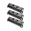 Logic-Seek 3 Toner kompatibel zu HP 122A Q3960A HC Schwarz