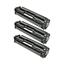 Logic-Seek 3 Toner kompatibel zu HP 125A CB540A HC Schwarz