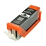 Logic-Seek 2 Tintenpatronen kompatibel zu Canon PGI-550PGBKXL 6431B001 XL Schwarz