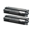 Logic-Seek 2 Toner kompatibel zu HP 13A Q2613A HC Schwarz