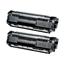 Logic-Seek 2 Toner kompatibel zu Canon Cartridge 703 7616A005 HC Schwarz