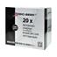 Logic-Seek 20x Etiketten kompatibel zu Brother DK-11209, 29mm x 62mm