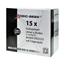 Logic-Seek 15x Etiketten kompatibel zu Brother DK-22225, 38mm x 30.48m