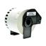 Logic-Seek 15x Etiketten kompatibel zu Brother DK-44205, 62mm x 30.48m