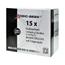 Logic-Seek 15x Etiketten kompatibel zu Brother DK-22243, 102mm x 30.48m