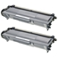 Logic-Seek 2 Toner kompatibel zu Brother TN-3390 HC Schwarz