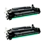 Logic-Seek 2 Toner kompatibel zu Canon Cartridge 724H 3482B002 HC Schwarz