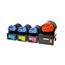 Logic-Seek 4 Toner kompatibel zu Canon C-EXV21 HC